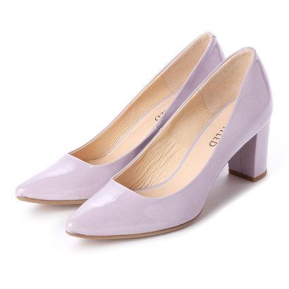 【アウトレット】アンタイトル シューズ UNTITLED shoes パンプス (ラベンダーエナメル)