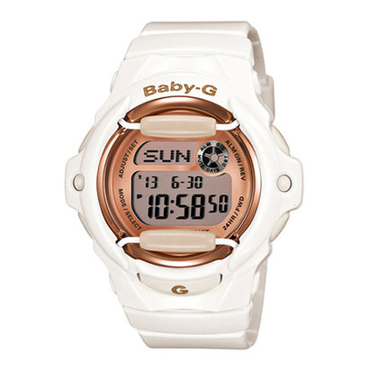 【BABY-G】Pink Gold Series(ピンクゴールドシリーズ) / BG-169G-7JF (ホワイト×ピンクゴールド)