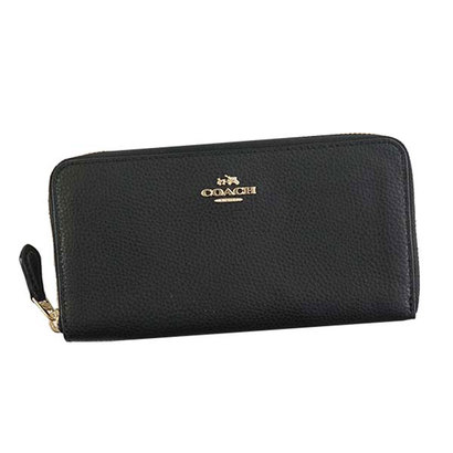 コーチ COACH LONG WALLET (BLACK)