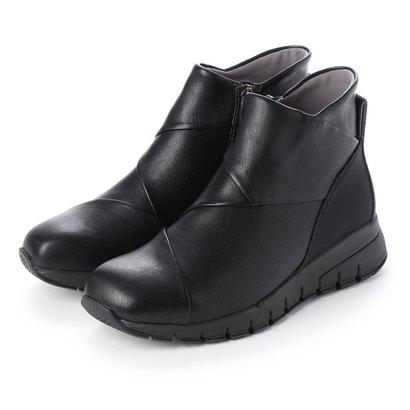 【アウトレット】フィットフィット fitfit クロスインステップブーツ (ブラック)