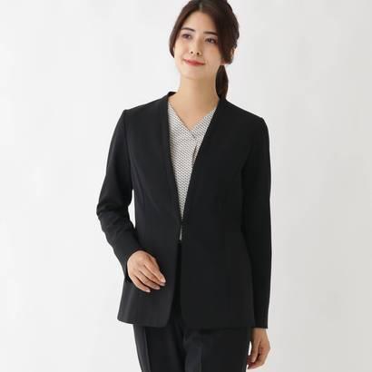 ソフール Sofuol 【STORYweb掲載】ステファニーノーカラージャケット (ブラック)