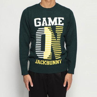 ジャック バニー Jack Bunny メンズ ゴルフ 長袖セーター 7G2Pインターシャ 2629270045
