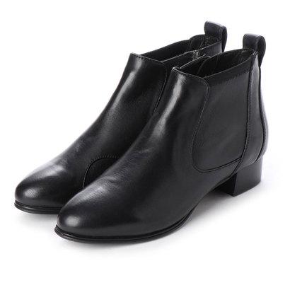【アウトレット】フィットフィット fitfit イタリアンストレッチレザーブーツ (ブラック)