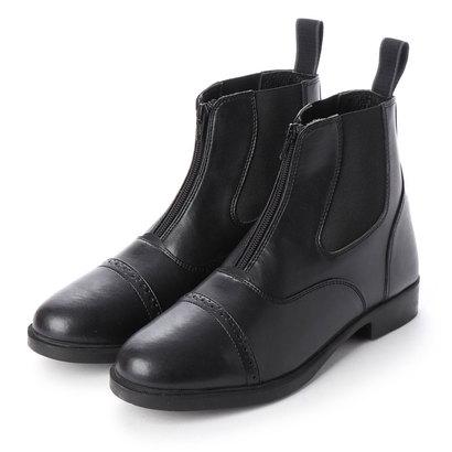 ジョッパーズ JODHPURS 合皮ショートブーツ (ブラック)