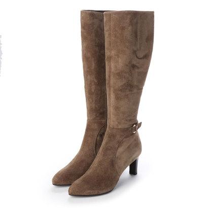 【アウトレット】アンタイトル シューズ UNTITLED shoes ロングブーツ (ブラウンスエード)