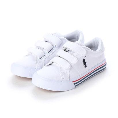 Polo Ralph Lauren Infant Boys/'   Quilton Bear Gore High Top White//Navy