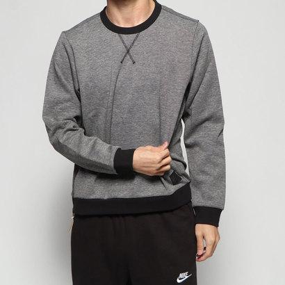 アディダス adidas メンズ ゴルフ 長袖トレーナー ADICROSS メランジ クルーネック長袖スウェット ED2114