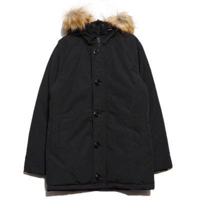 スタイルブロック STYLEBLOCK タスランファー付きコート (ブラック)