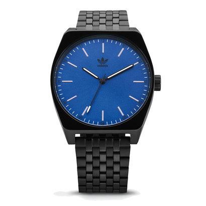 アディダス adidas Process_M1 (All Black / Blue)