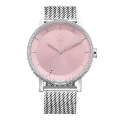 アディダス adidas District_M1 (Silver / Light Pink Sunray)