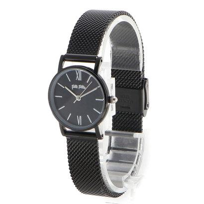 フォリフォリ Folli Follie MATCH IT メッシュベルトウォッチ/腕時計S (ブラック)