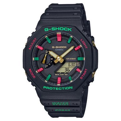 【G-SHOCK】ウィンタープレミアム / スペシャル復刻モデル / GA-2100TH-1AJF / Gショック (ブラック)
