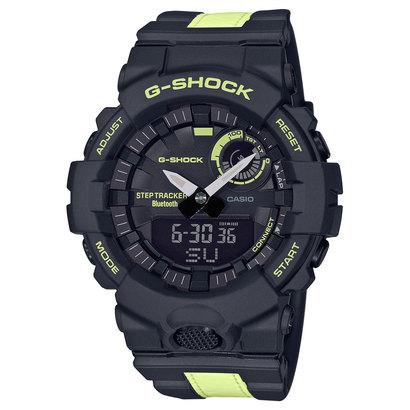 あす楽 交換 返品可能 ジーショック 迅速な対応で商品をお届け致します G-SHOCK アクセサリー GBA-800LU-1A1JF 爆売り Gショック G-SQUAD ブラック×イエロー 時計 ロコンド