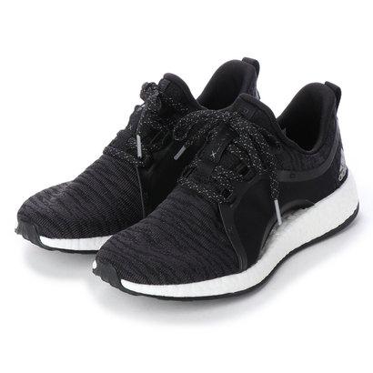 ラナン Ranan 〈adidas〉ピュアブーストXスニーカ (ブラック)