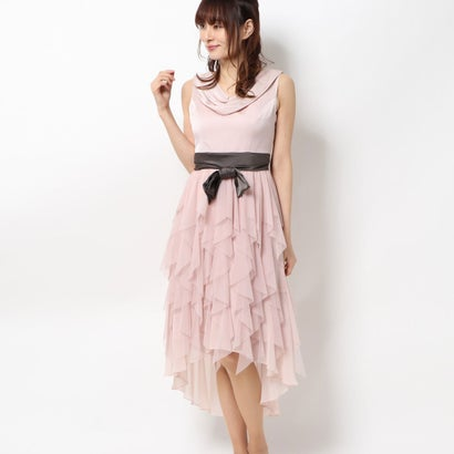 【アウトレット】ジュネビビアン Genet Vivien パーティードレス (ピンク)