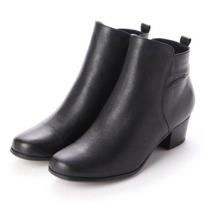 イング ing バックデザインショートブーツ (ブラック)