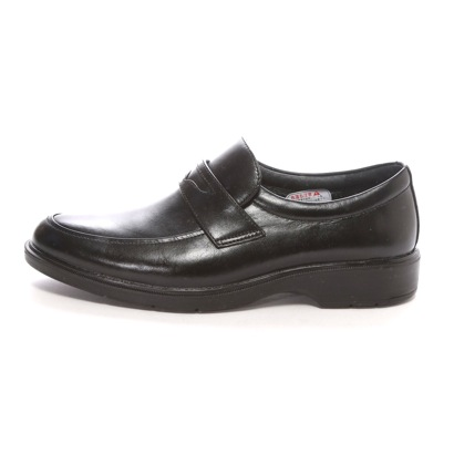 SHOE、PLAZA高泥土技术HYDRO-TECH蓝色收集(黑色)多功能/防水商务鞋
