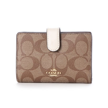コーチ COACH WALLET (KHAKI/WHITE)