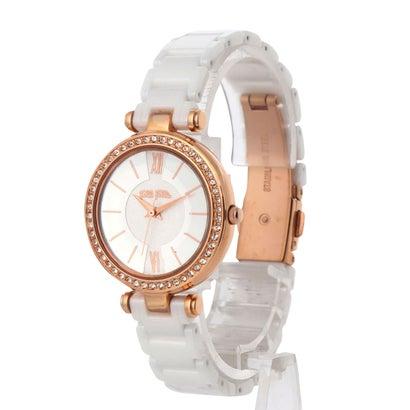 フォリフォリ Folli Follie LADY BUBBLE セラミックウォッチ/腕時計 (ホワイト)