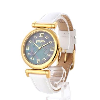 フォリフォリ Folli Follie MOD PRINCESS レザーウォッチ/腕時計 (ホワイト)