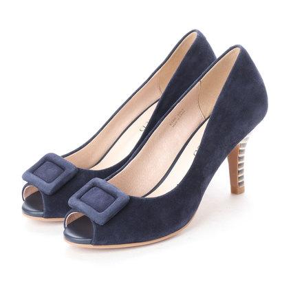 【アウトレット】アンタイトル シューズ UNTITLED shoes パンプス (ネイビースエード)