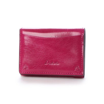 ダコタ Dakota 【MORITA & Co.】 バンビーナ 三つ折財布 (ピンク)