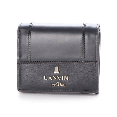 ランバン オン ブルー LANVIN en Bleu ジゼル 2つ折り財布 (ブラック)
