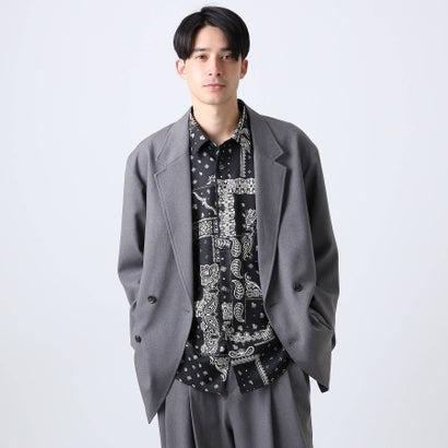 ティーケー タケオ キクチ tk.TAKEO KIKUCHI ダブルブレストジャコット (グレー)