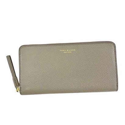 トリーバーチ TORYBURCH PERRY ZIP CONTINENTAL WALLET (GRAY HERON)