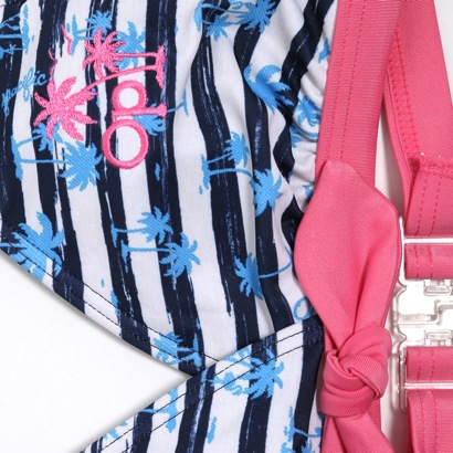 oshampashifiku Ocean Pacific女孩子游泳衣3分安排565806深蓝