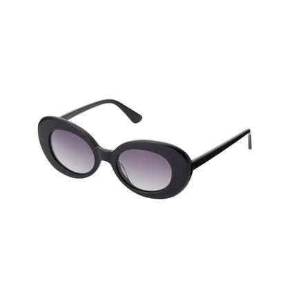 ドレステリア DRESSTERIOR Natahalie Blanc(ナタリーブラン)ファッションサングラス (ブラック)
