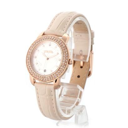 フォリフォリ Folli Follie H4H FLORAL レザーウォッチ/腕時計 (ピンク)