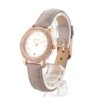 フォリフォリ Folli Follie H4H FLORAL レザーウォッチ/腕時計 (グレー)