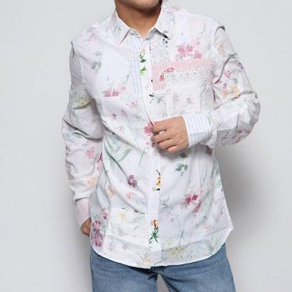 デシグアル Desigual シャツ長袖 CRAIG (ホワイト)