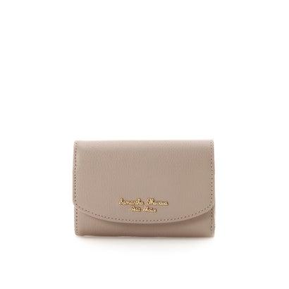 サマンサタバサプチチョイス シンプルロゴシリーズ(折財布) ベージュ