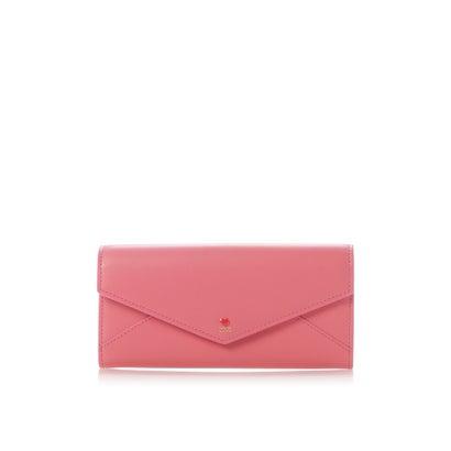 サマンサタバサプチチョイス プチハートラブレターシリーズ(かぶせ長財布) ピンク