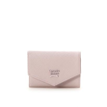 サマンサタバサ フリル 折財布 ピンク