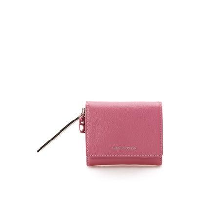 サマンサタバサ エルモシリーズ 新色 かぶせ折財布 フューシャピンク