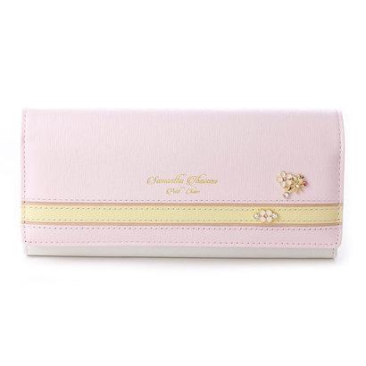 サマンサタバサプチチョイス バイカラーパステルシリーズ 長財布(ピンク)