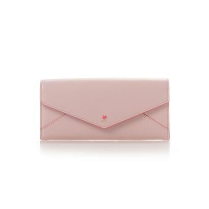 サマンサタバサプチチョイス プチハートラブレターかぶせ財布 ピンク