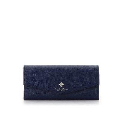 サマンサタバサプチチョイス ストーンモチーフシリーズ(長財布) ネイビー