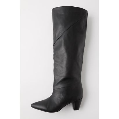 マウジー moussy LOOSE FIT LONG BOOTS (ブラック)