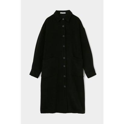マウジー moussy LONG SHIRT COAT (ブラック)