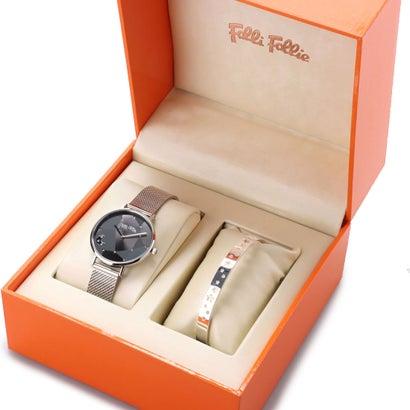 フォリフォリ Folli Follie STARGAZE バングル&ウォッチ/腕時計セット (シルバー)