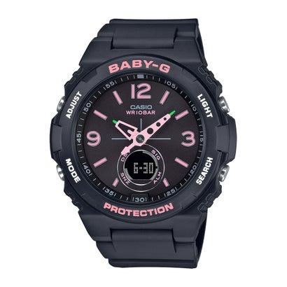 【BABY-G】BGA-260シリーズ / BGA-260SC-1AJF (ブラック×ピンク)
