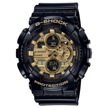 【G-SHOCK】Garish Color(ガリッシュ カラー) / GA-140GB-1A1JF (ブラック×ゴールド)