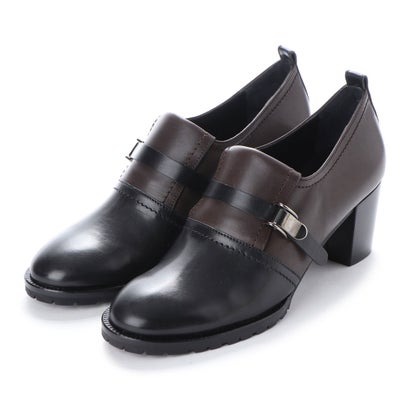 ヨーロッパコンフォートシューズ EU Comfort Shoes looky ヒールシューズ(5532) (ブラック/グレー)