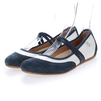 ヨーロッパコンフォートシューズ EU Comfort Shoes Benvado バレーシューズ(32006) (ダークネイビー/ホワイト)