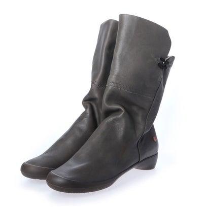 【アウトレット】ヨーロッパコンフォートシューズ EU Comfort Shoes Softinos ロングブーツ(900.223) (グレー)