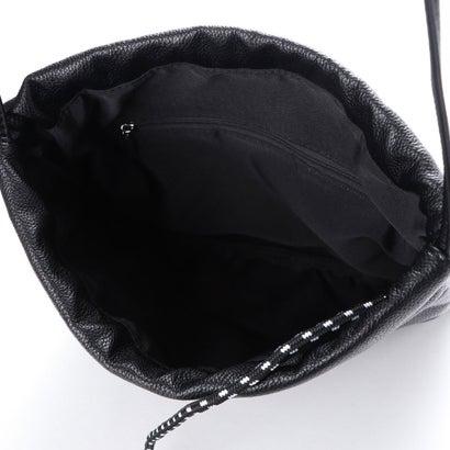 イグジスタンス EXISTENCE ポーチ付き巾着バッグブラックkiuPOXZ